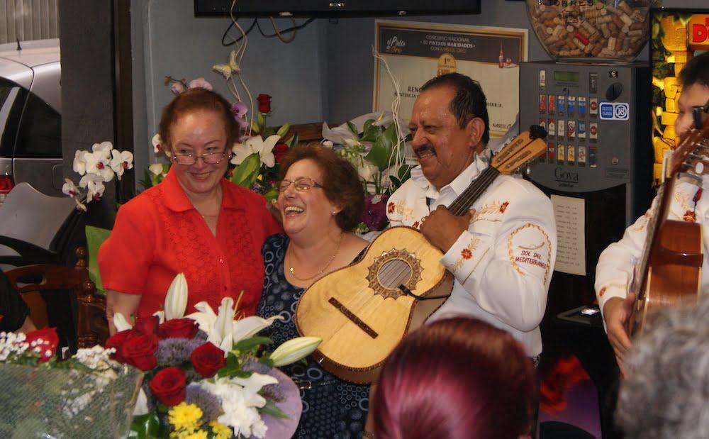 Jubilación Letizia en Bar Marvi (Valencia)